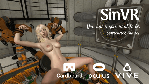 SinVR is definitely one of the best VR porn games ever